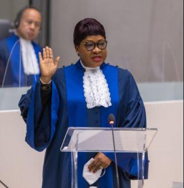 International Criminal Court judge Miatta Maria Samba