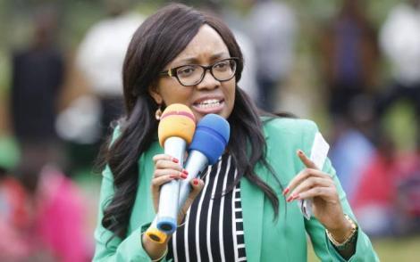 Nakuru Senator Susan Kihika.