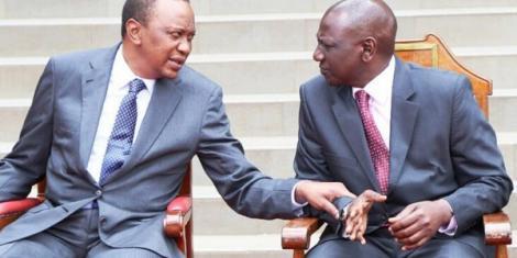 President Uhuru and his deputy Ruto