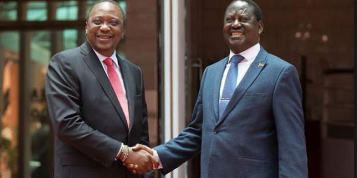 Uhuru's Plan to Save Raila's Presidential Bid