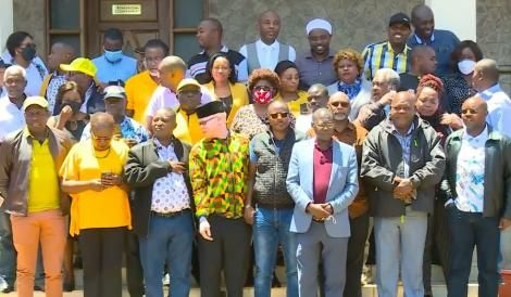 Mt Kenya MPs in Laikipia on Saturday, September 4, 2021