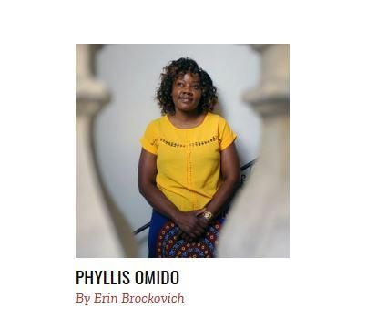 Environmental activist Phyllis Omido photographed by Time Magazine