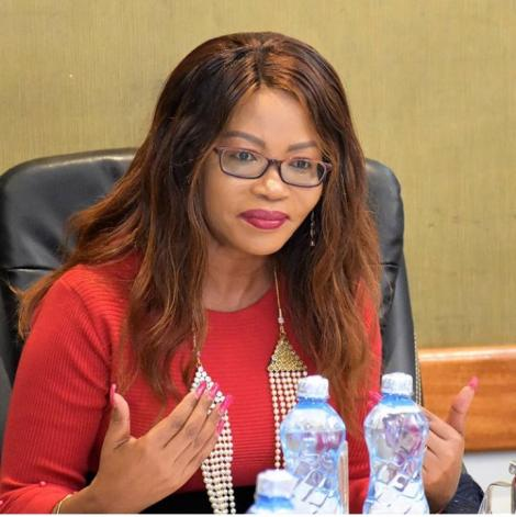 Samchi Telecommunications Ltd as Founder and CEO Esther Muchemi.