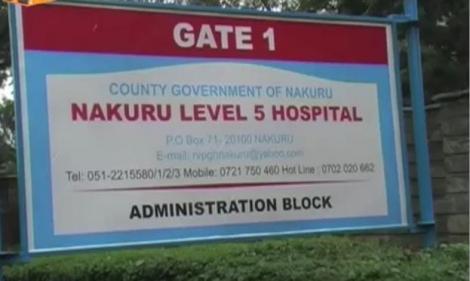 Nakuru Level Five Hospital.