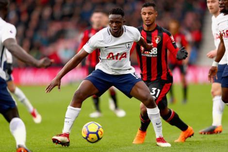 Tottenham Hotspur midfielder Victor Wanyama