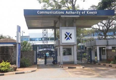 The Communications Authority of Kenya offices along Waiyaki Way, Nairobi.