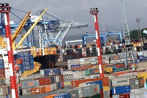 An image of Mombasa Port