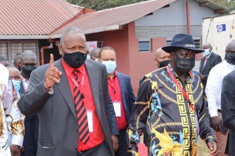 ODM Leader Raila Odinga Arriving at Bomas of Kenya for KANU Event on Thursday September 30