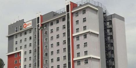 File image of Qwetu hostels along Jogoo Road in Nairobi