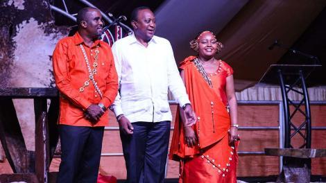Governor Anne Waiguru and Husband Kamotho Waiganjo During Their Wedding in 2019