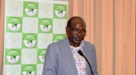 IEBC Chairman Wafula Chebukati During the Official Opening of the Political Parties Liaison Committee Engagement Forum Held On Friday, October 1