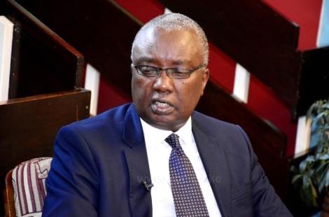 A File Image of KCAA Director General Gilbert Kibe