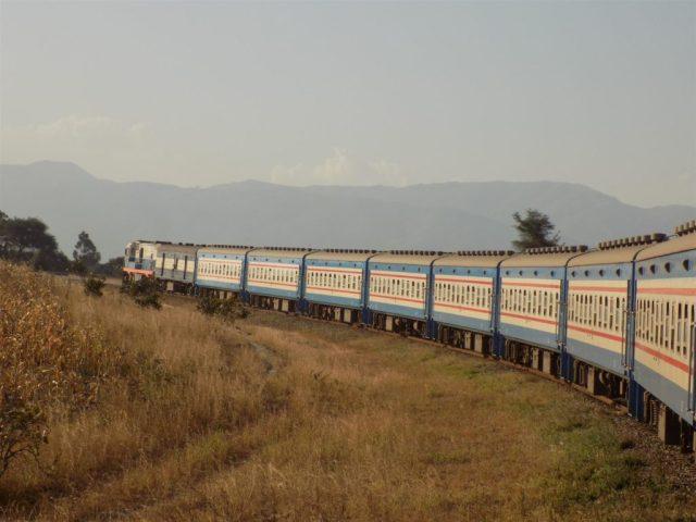 TAZARA Trains - Mukuba Express