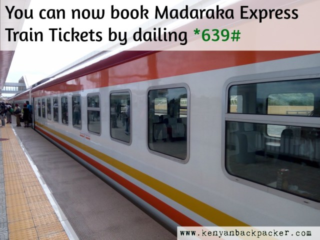 How to book Madaraka express train tickets in advance by USSD SGR Booking