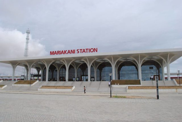 County Train - Mariakani Station