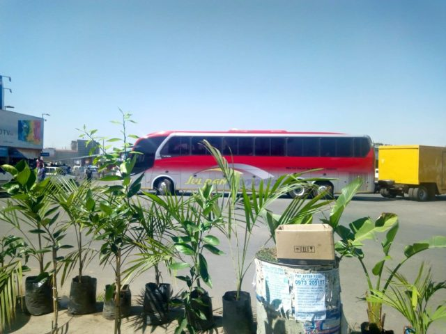 Traveling by bus in East Africa - Juldan