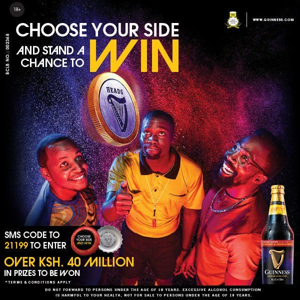 Kenyan-Collective-Guinness-Choose-Your-Side-Promo
