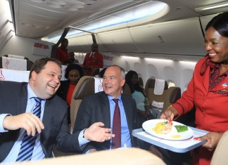 Kenya Airways Unveils Revamped Catering Service In Partnership With Chef Kiran Jethwa