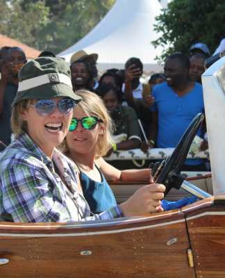 History Is Made As Veronica Wroe Becomes First Woman To Win Concours D'Elegance With Her 1934 Rolls Royce Boatail
