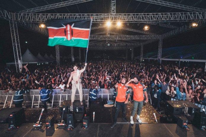 Global Dance Trio Major Lazer Shuts Down Nairobi