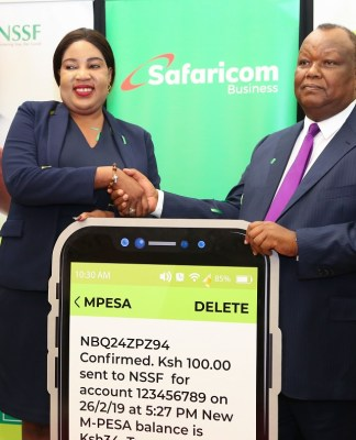 NSSF Partners with M-PESA Towards An Entirely Cashless System
