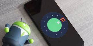 Android 11 phone
