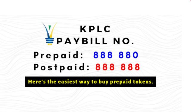 KPLC Paybill Number for Tokens, Prepaid, Postpaid & How to Buy/Pay ...