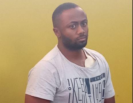 Joseph Irungu at the Kiambu Magistrate's Court on Wednesday, September 26, 2018.