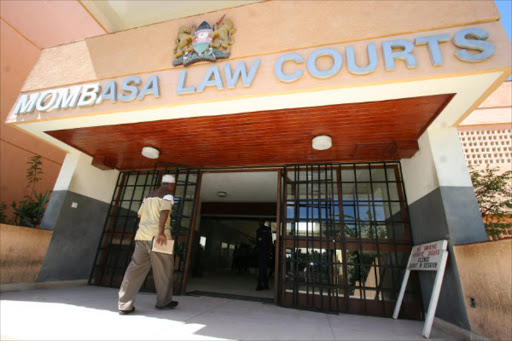 Mombasa Law Courts where
