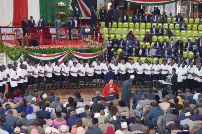 Delegates at The Bomas Of Kenya