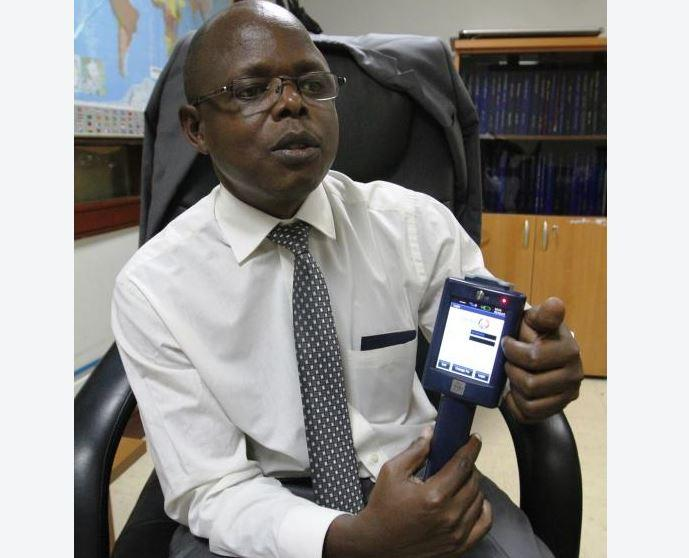 KRA Deputy Commissioner for Policy and Tax Advisory Division, Caxton Ngeywo, while at his office.