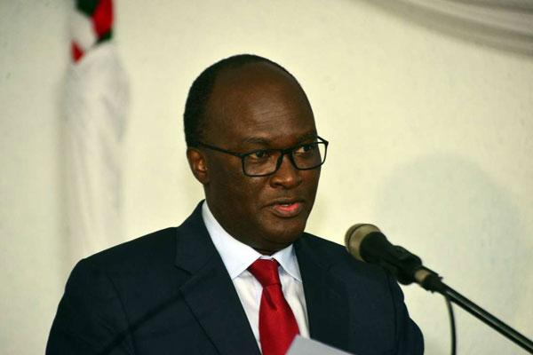 Cabinet Secretary for Transport and Infrastructure James Macharia. Photo undated.