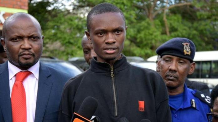 JKUAT student President Titus Osoro
