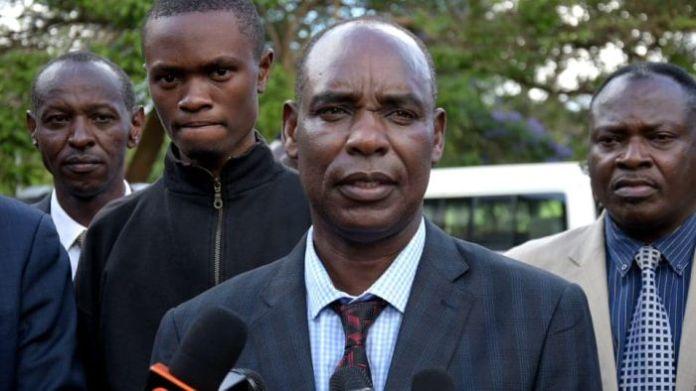 Kiambu County Commissioner Wilson Wanyanga