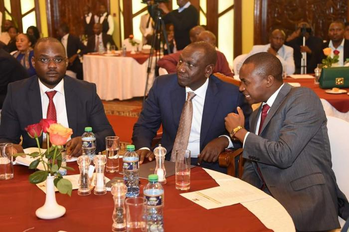 Deputy President William Ruto feted with the East Africa Leadership Award for the year 2019.