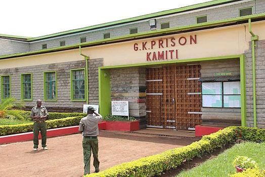 Kamiti Maximum Prison in Kiambu County. Jowie has been held in isolation in the same Prison.