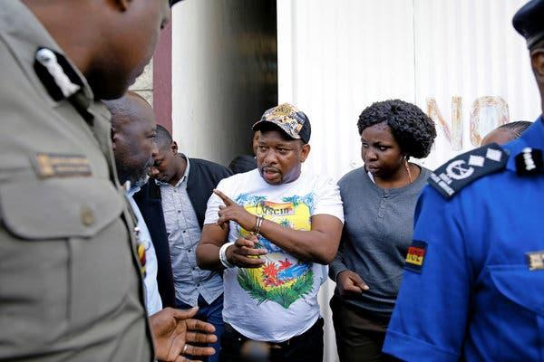Nairobi Governor Mike Sonko when he was arrested on December 6, 2019