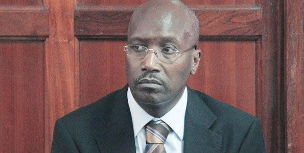 The late President Moi's son Philip Moi in court on April 19, 2012