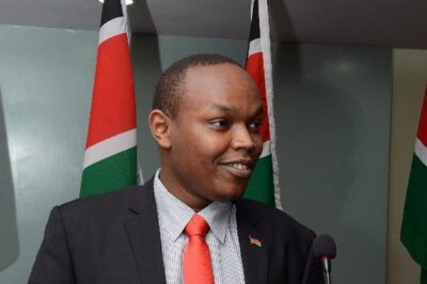 Blogger Polycarp Hinga who was threatened with a lawsuit by Dennis Itumbi on Thursday, November 21, 2019