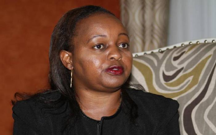 A photo of Kirinyaga governor Anne Waiguru. Waiguru was cleared of corruption charges in February 2016.