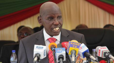 Education Principal Secretary Belio Kipsang
