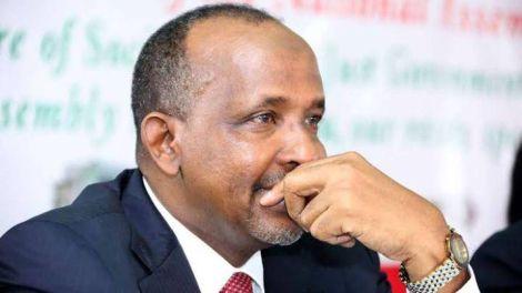 Garissa Town MP Aden Duale