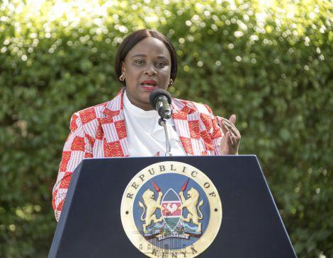 State House Spokesperson Kanze Dena