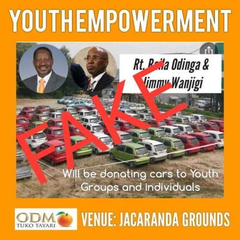 An image of an ODM Fake Poster