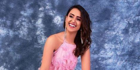 File image of K24 TV anchor Shiksha Arora at a photoshoot