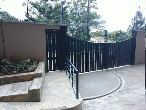 A compound with electric fences in Thome, Nairobi