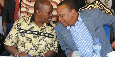 Image result for uhuru and kabogo