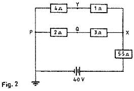 Figure 4 shows an electrical circuit. When the switch is