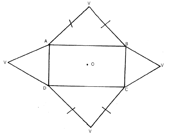 The figure below shows the net of a regular rectangular