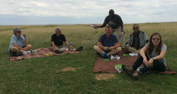 Kenya camping safari group private